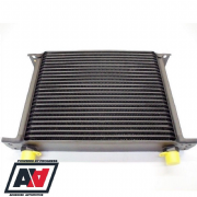 Mocal Oil Cooler 25 Row 235mm Matrix 1/2 BSP Threads In Black